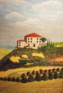 Seaside Villa 100x78 cm 2006